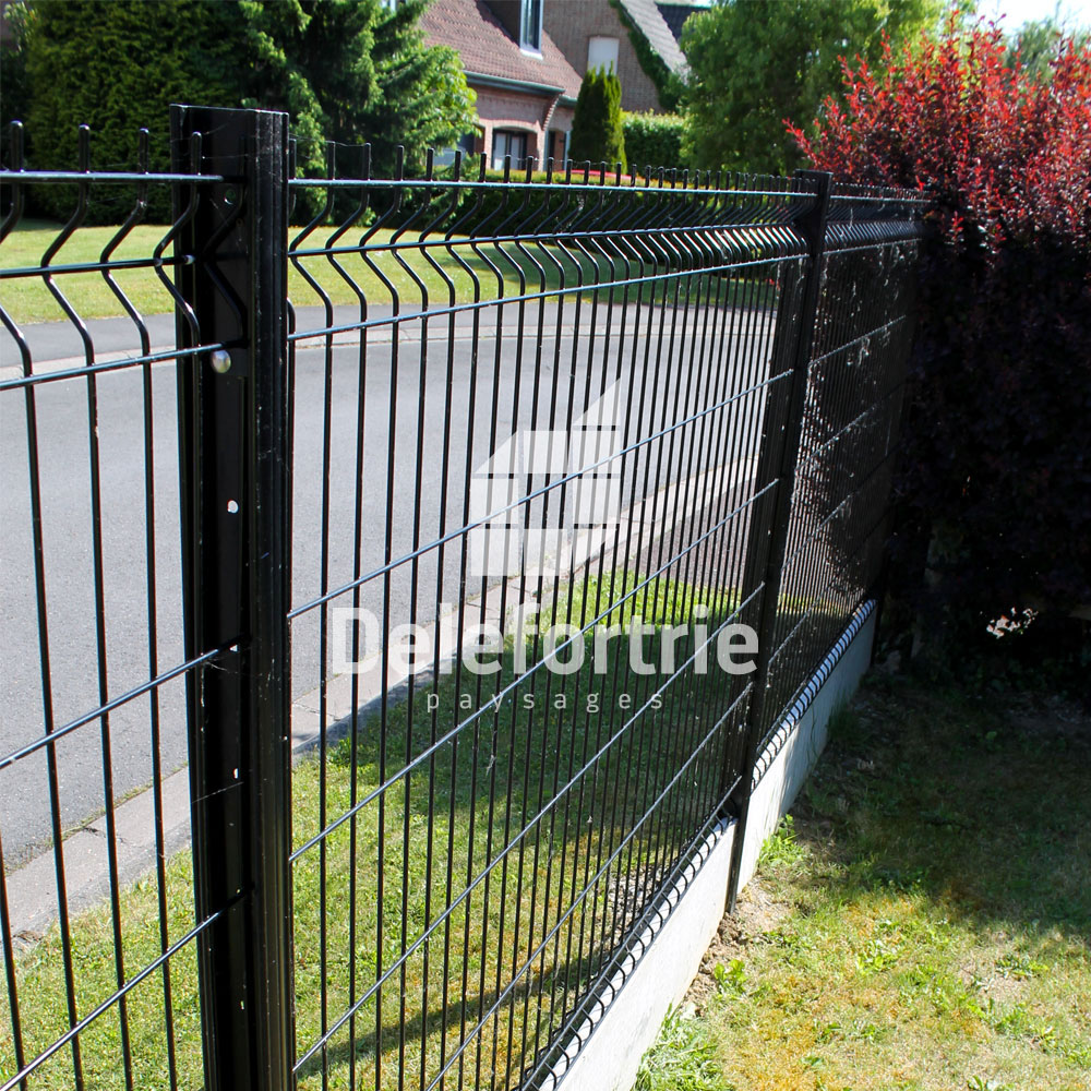 Grillage rigide delefortrie paysages for Grillage et portillon de jardin