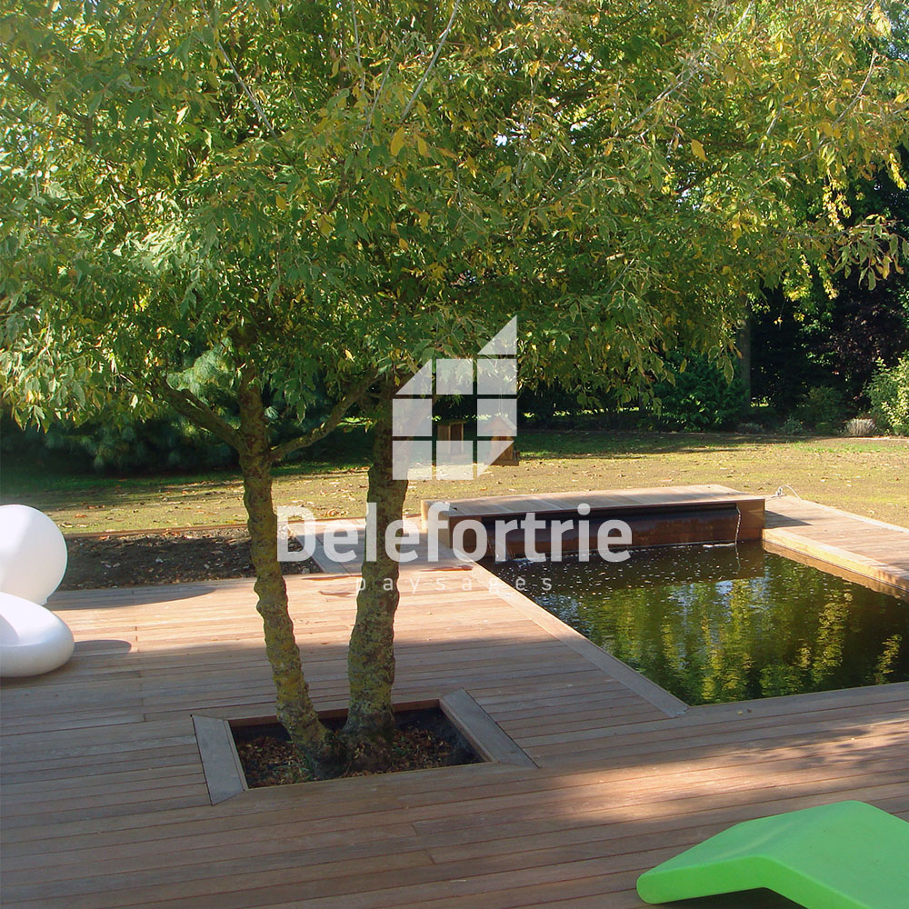 r fection terrasse ip et pierre bleue delefortrie paysages. Black Bedroom Furniture Sets. Home Design Ideas